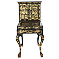 Chinoiserie Writing Cabinet